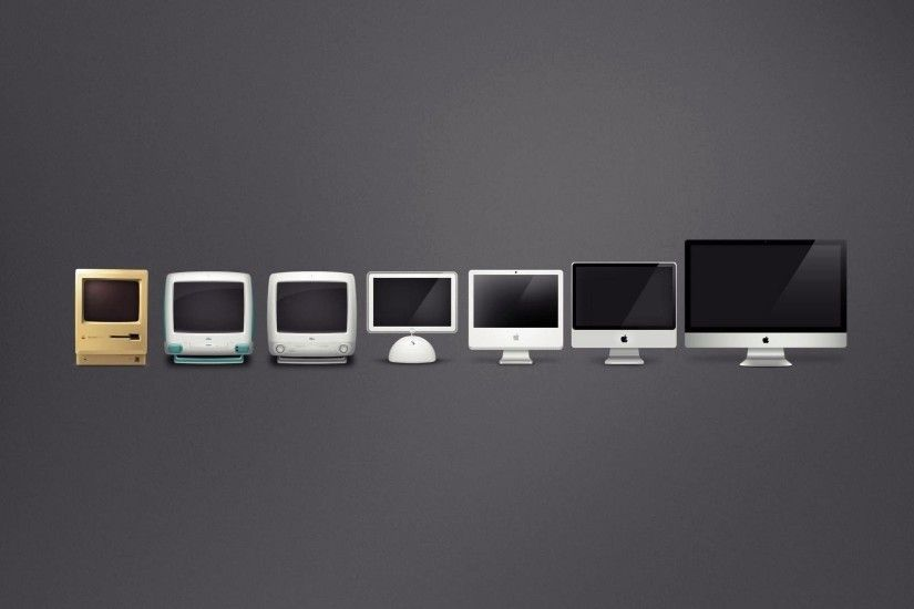 Preview wallpaper mac, apple, computers, evolution 1920x1080