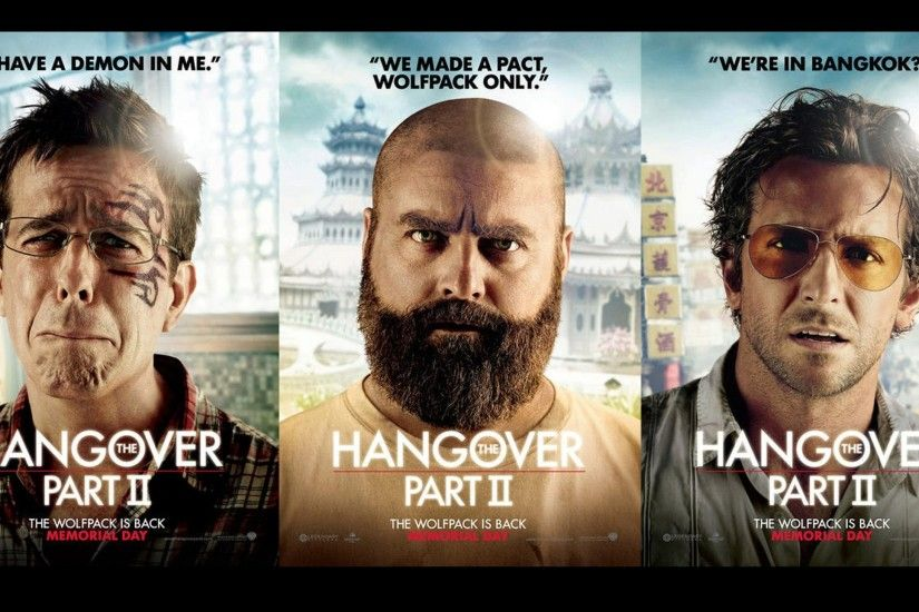 zach galifianakis bradley cooper hangover part ii ed helms 1920x1080  wallpaper Art HD Wallpaper