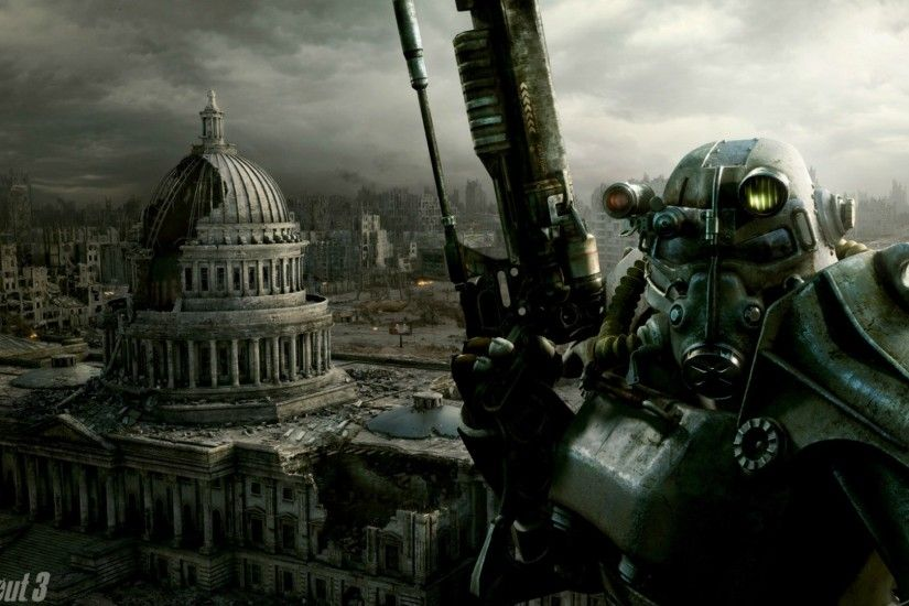 Games wallpaper gaming fallout 3