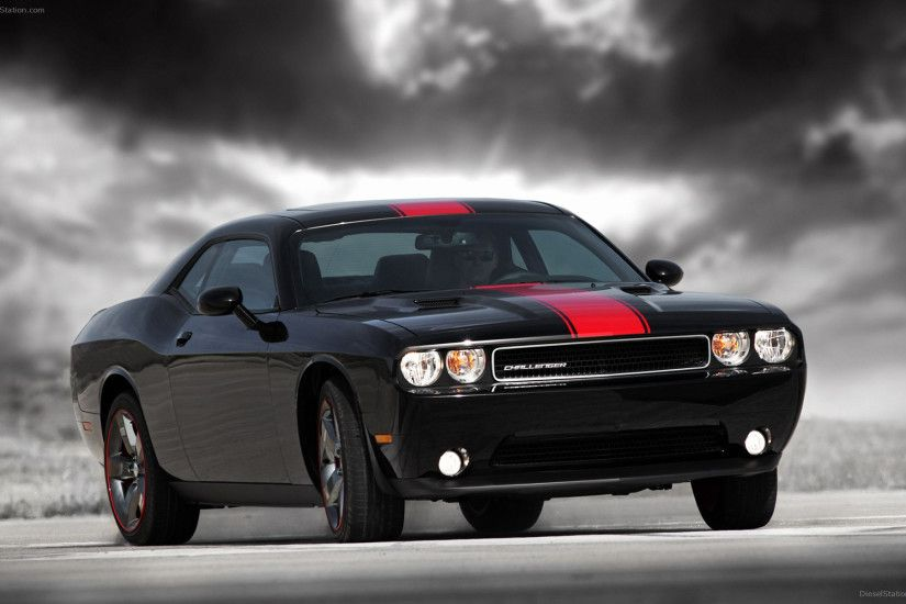 Car Wallpapers 2012 New Dodge Challenger Rallye Redline 2012 Widescreen Exotic  Car