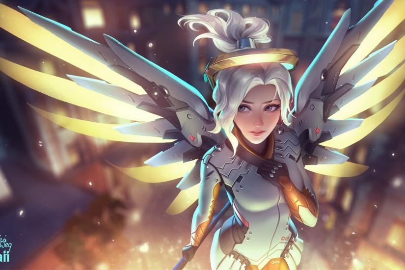 overwatch mercy wallpaper 1920x1080 for mobile