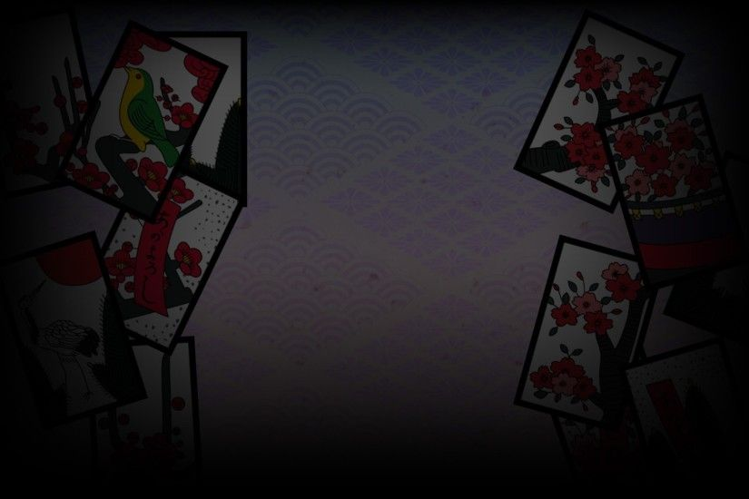 1920x1202 hd wallpaper koi koi japan hanafuda playing cards