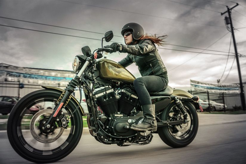 Vehicles - Harley-Davidson Sportster Harley-Davidson Iron 883 Wallpaper