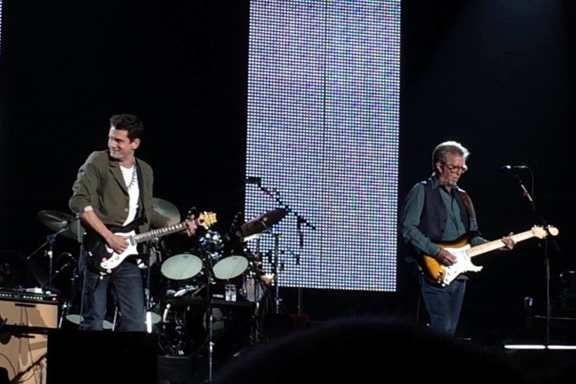 Eric Clapton and John Mayer - Pretending Live at Madison Square Garden MSG  on May 3, 2015 - YouTube