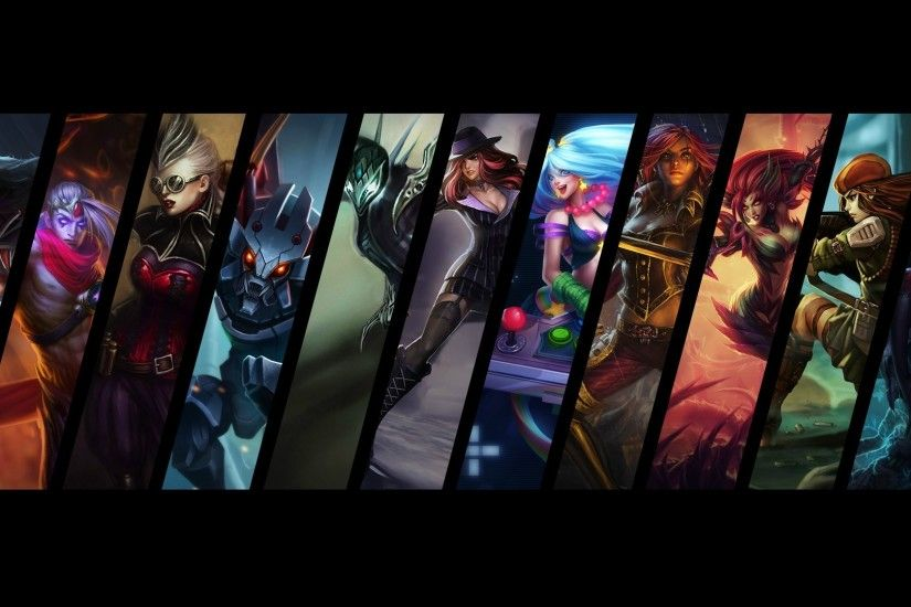 League of Legends Desktop Background