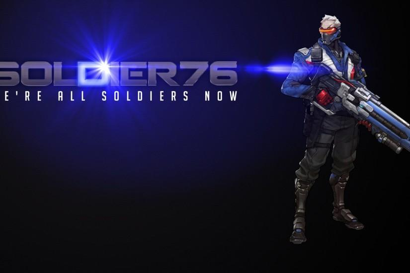 widescreen soldier 76 wallpaper 1920x1080 for samsung galaxy