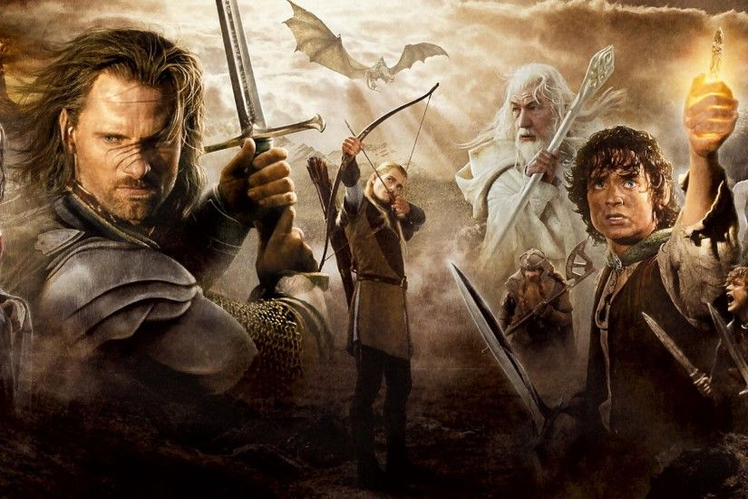 Movie - The Lord of the Rings: The Return of the King John Rhys-