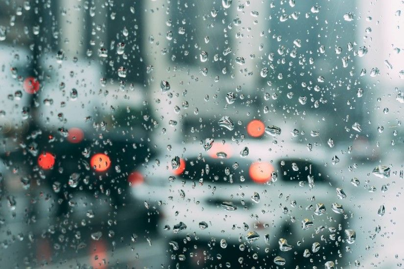 715 0: Rain Window Bokeh Art Car Sad iPad wallpaper