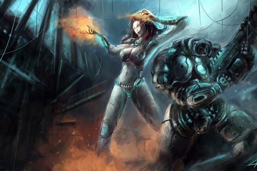 Jim Raynor, <b>artwork</b>, <b>StarCraft