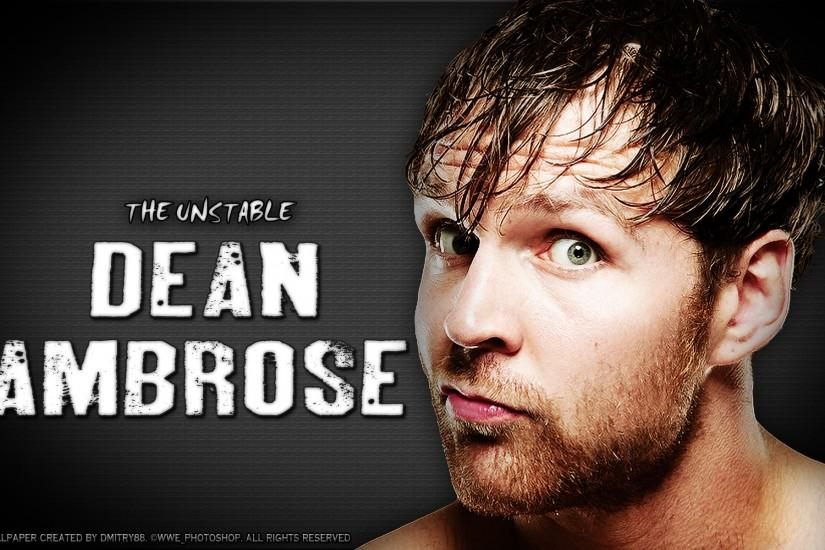 Dean Ambrose by dmitrykozin99 on DeviantArt