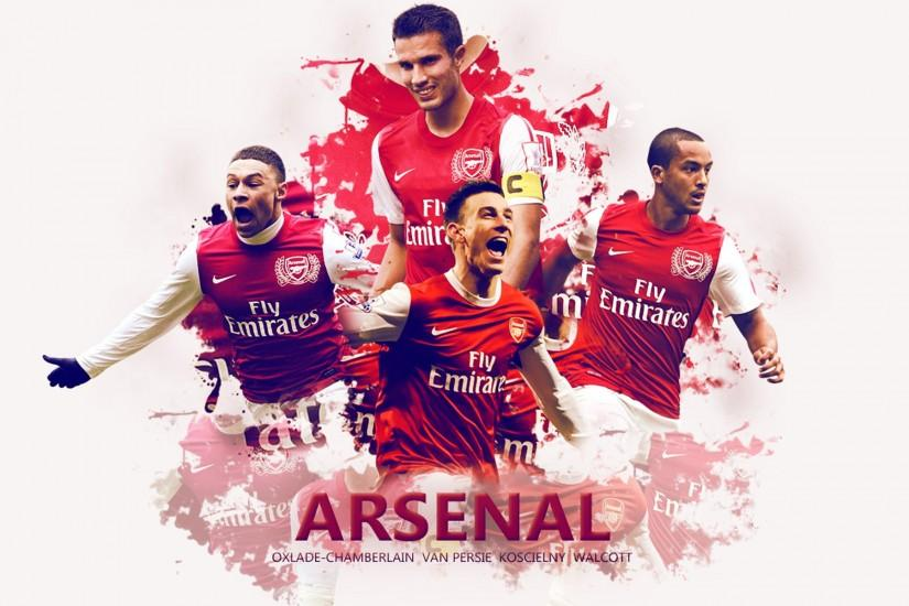 Arsenal Players 1920x1200 Wallpaper.