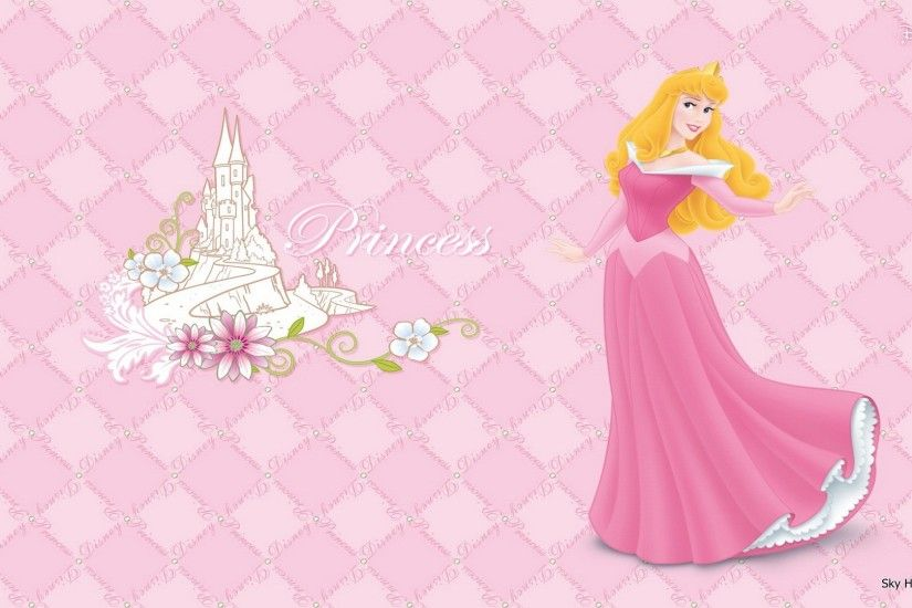 Princess Wallpaper Group with items
