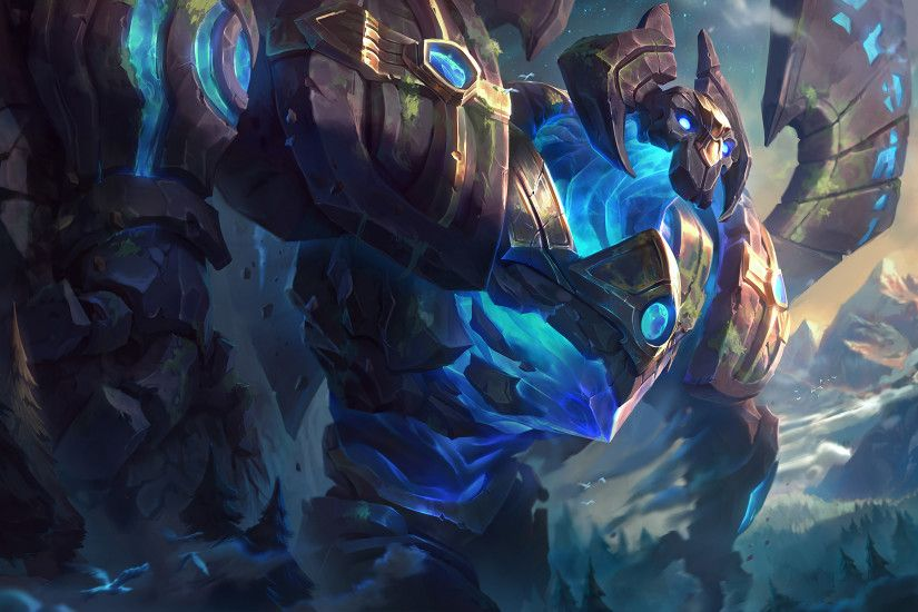 Enchanted Galio Splash Art Update League of Legends Artwork Wallpaper lol  (2)