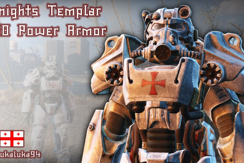 Knights Templar - T60 Power Armor at Fallout 4 Nexus - Mods and community