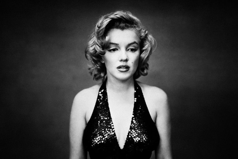 1920x1080 Marilyn Monroe Monochrome. How to set wallpaper on your desktop?  Click the download link from above and set the wallpaper on the desktop  from your ...