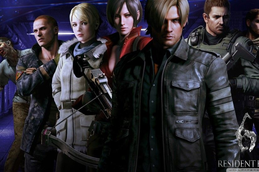 Resident Evil 6 Characters HD desktop wallpaper : High Definition