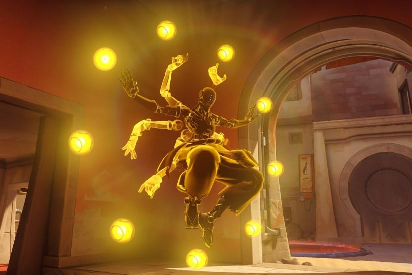 free download zenyatta wallpaper 1920x1080