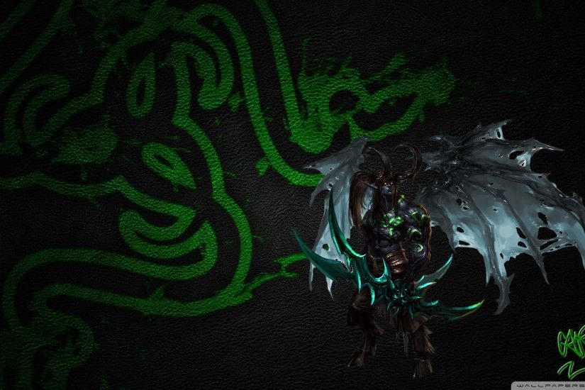 Illidan Stormrage Razer HD Wide Wallpaper for Widescreen