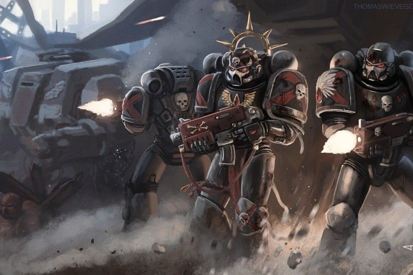 Warhammer 40K Death Company Wallpaper
