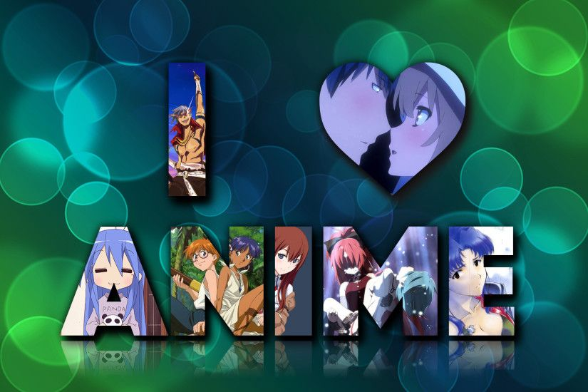 I love anime wallpaper by alessiole I love anime wallpaper by alessiole
