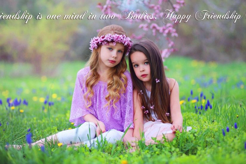 Girls Friendship Wallpaper