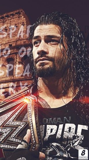 Wwe Roman Reigns I Phone Wallpaper By Arunraj1791 On Deviantart regarding  Free Wwe Wallpapers Mobile Phone
