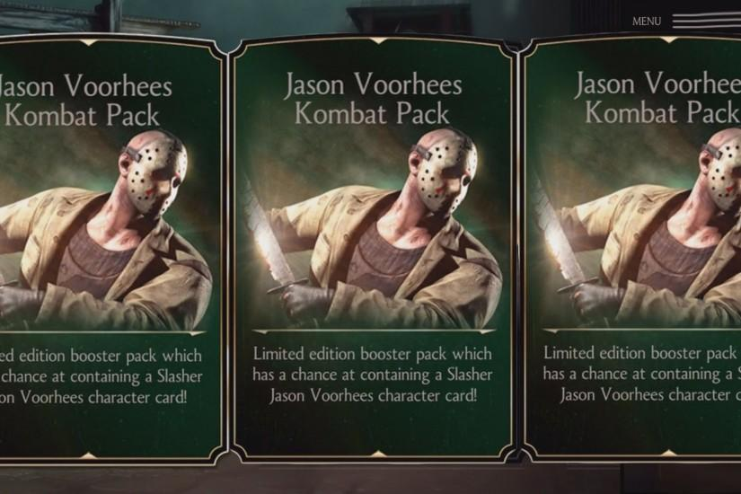 ... Jason X Iphone Mortal Kombat X IOSAndroid OPENING 11 JASON VOORHEES  KOMBAT PACKS YouTube ...