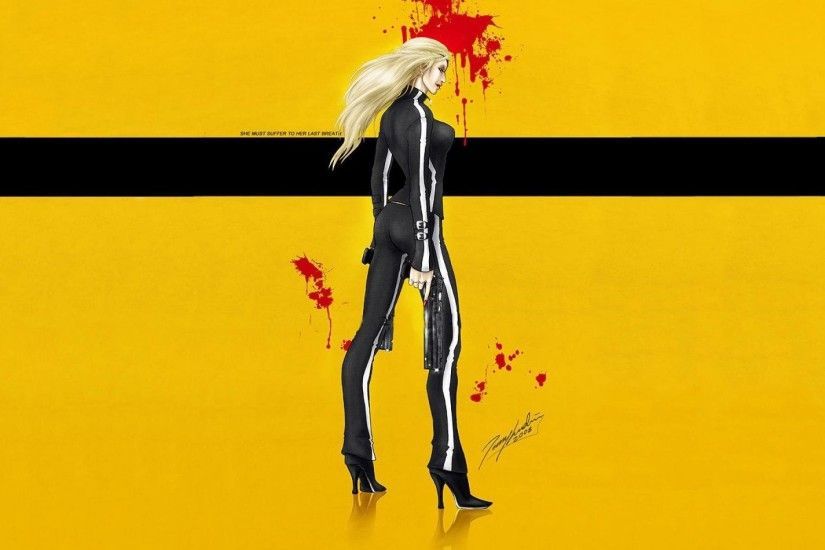 KILL BILL action crime martial arts sexy babe warrior weapon gun pistol  dark blood poster f wallpaper | 1920x1200 | 234683 | WallpaperUP
