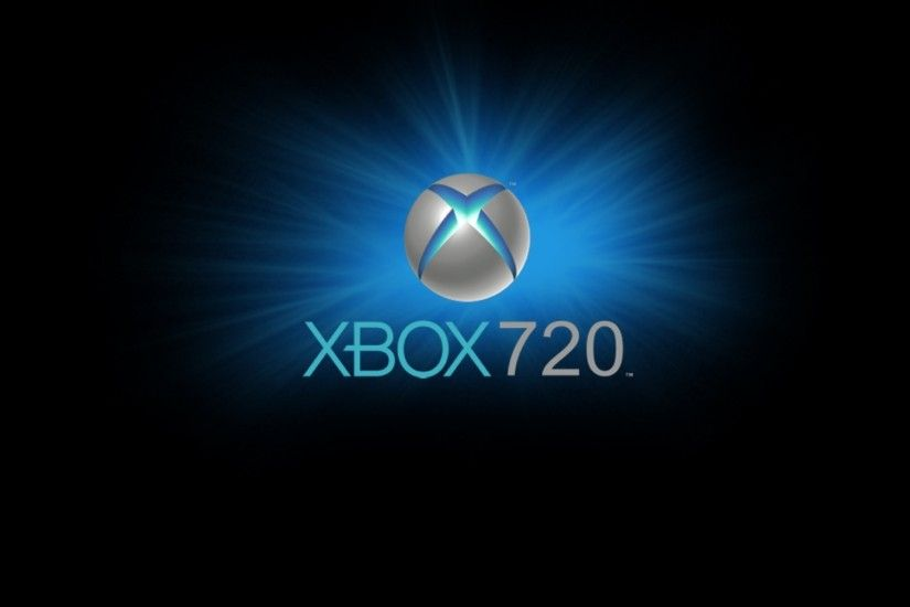 2048x2048 Wallpaper xbox, game console, blue, circle, black