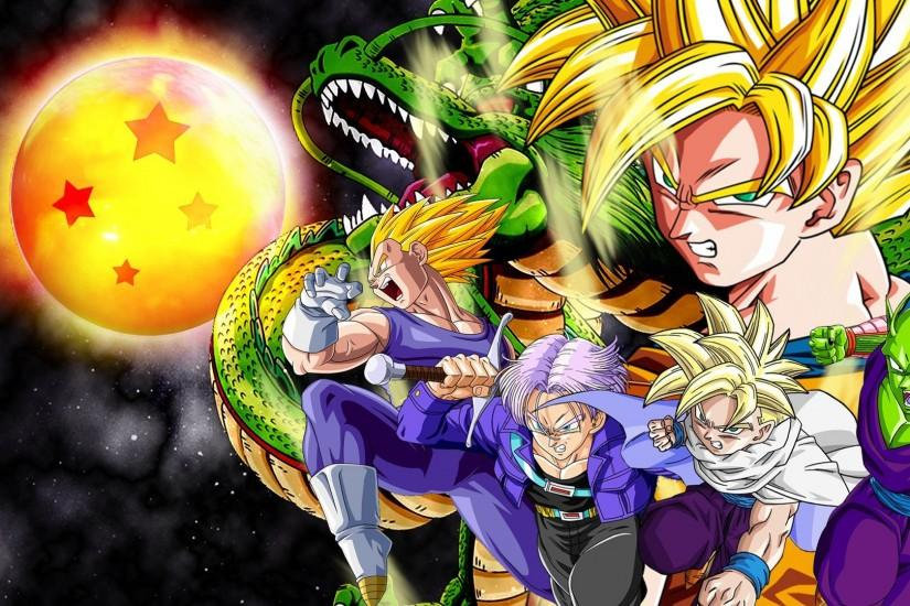 HD Best Dragon Ball Z Desktop Background Full Size .