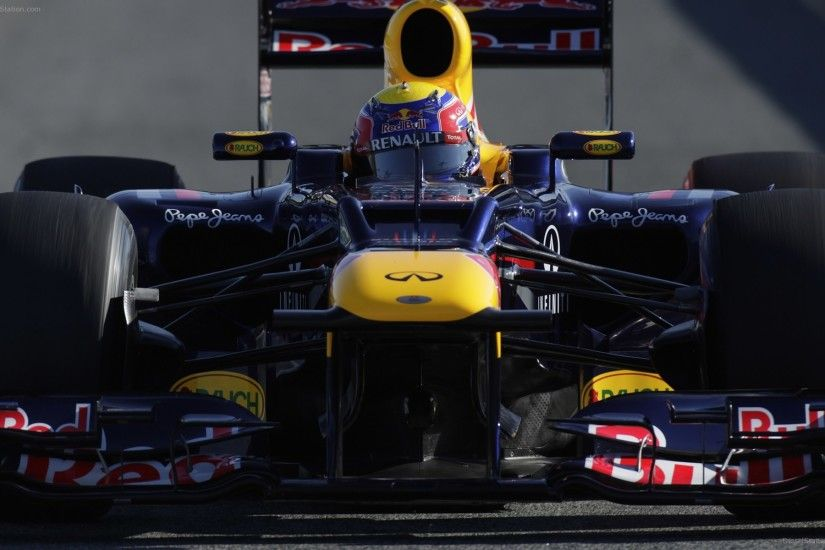 Infiniti Red Bull Racing Pre Season Test 2012
