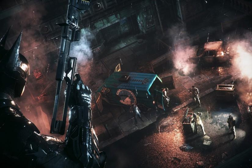 Arkham Knight Killing Batman Wallpaper And Catwoman