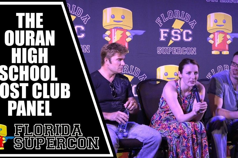 Ouran High School Host Club Panel with Vic Mignogna Caitlin Glass and J  Michael Tatum - YouTube