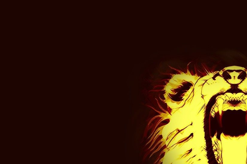 minimalism fire leo abstract animals lion fire fangs