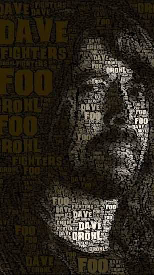 Dave Grohl Foo Fighters Wallpaper iPhone resolution 1080x1920