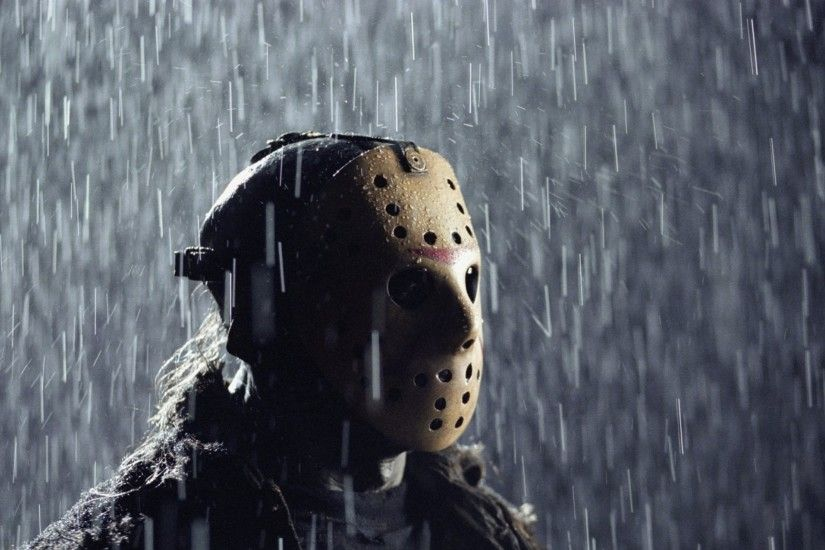 horror movies rain jason friday the 13th jason voorhees 1400x911 wallpaper  Art HD Wallpaper