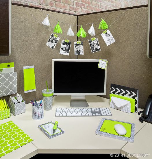 Brighten up your cubicle with stylish office accessories! @Sandra Pacheco  for you