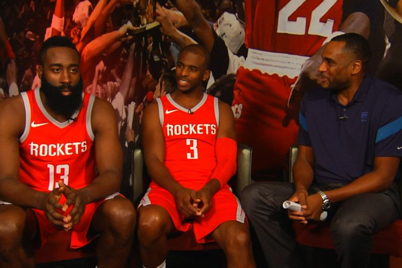 James Harden on Houston Rockets' new backcourt: 'It's gonna work' | NBA.com