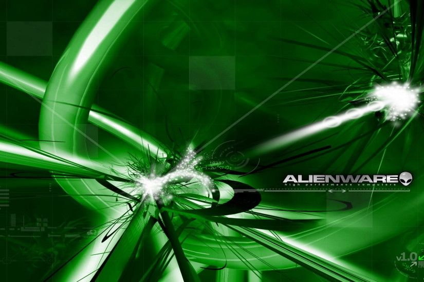 Green Alienware wallpaper 148913