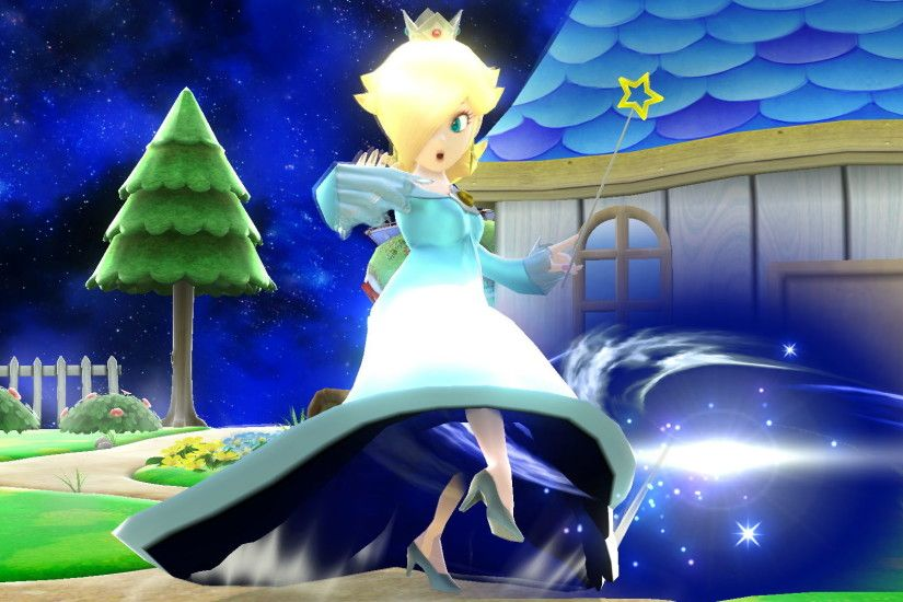 Also, I've managed to get hold of Rosalina's alternate trophy.