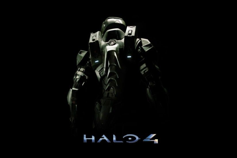 The poster of the video game Halo 4