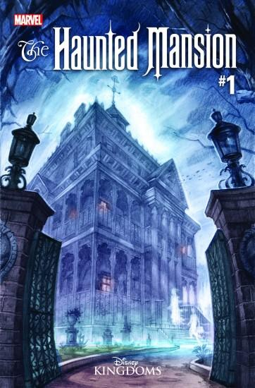 'Haunted Mansion' comic book unearths the history behind the Disney ride