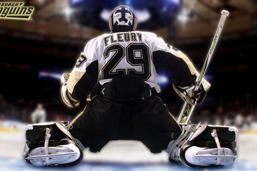 Pittsburgh Penguins Marc Andre Fleury Wallpaper 528500