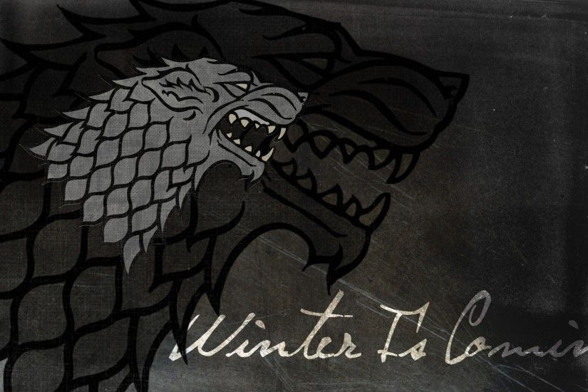 Game Of Thrones, Winter Is Coming, House Stark Wallpaper HD