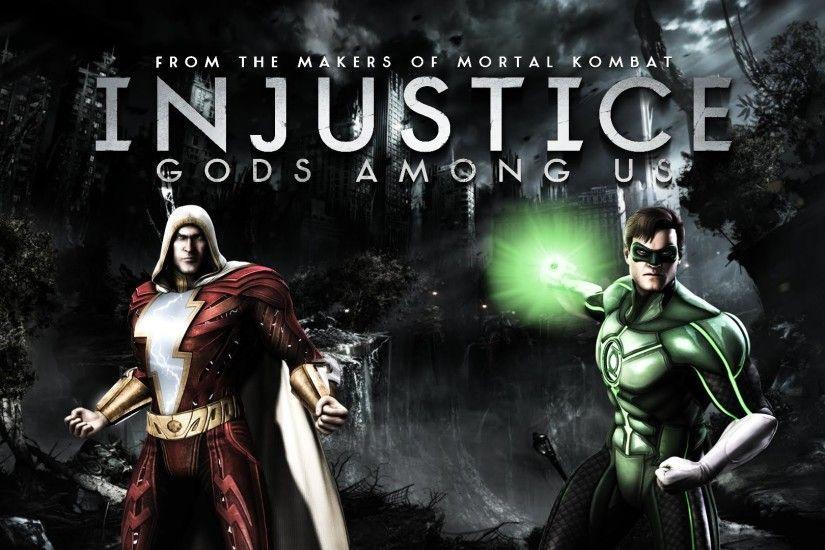 Injustice Gods Among Us Shazam Regime Vs Green Lantern Gameplay
