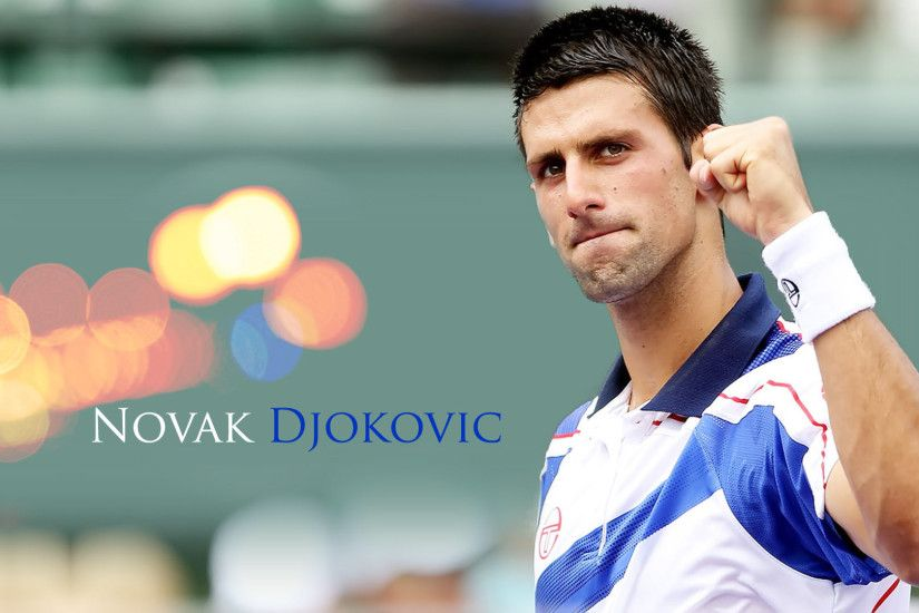 Lawn Tennis Novak Djokovic Wallpaper Wallpapers Also available in screen  resolutions.