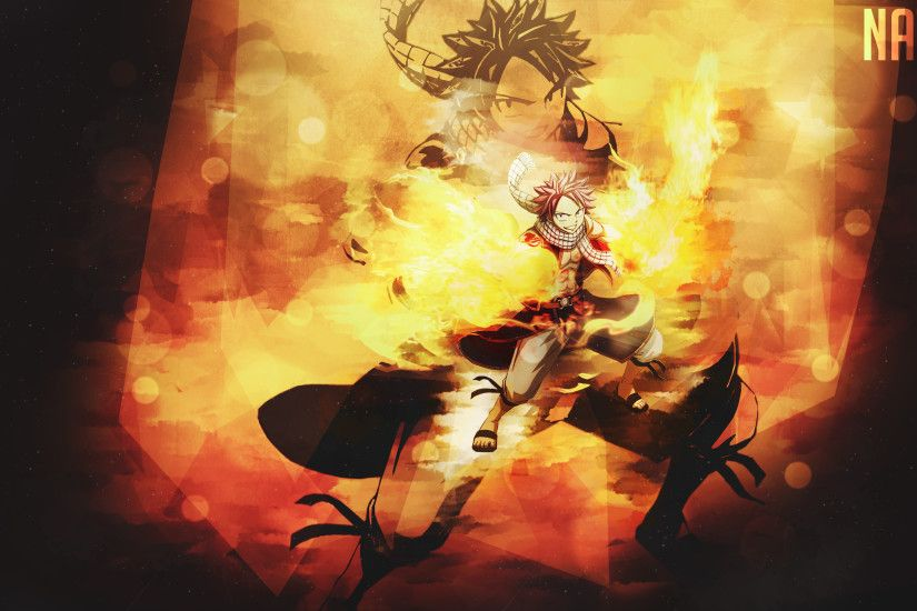 Anime - Fairy Tail Natsu Dragneel Wallpaper