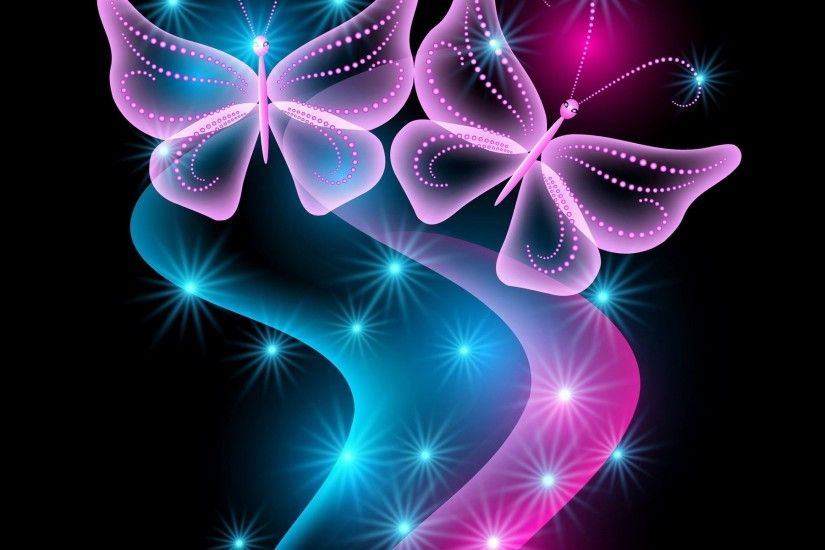 ... Magical Fantasy Free Graphics | Magical Butterflies Wallpaper .