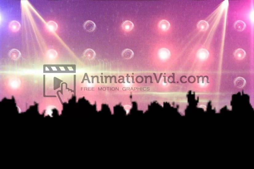 Concert Lights Pink Background Video