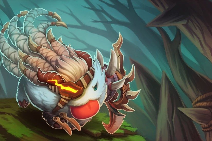... League Of Legends Poro Champion Wallpaper HD Wallpaper